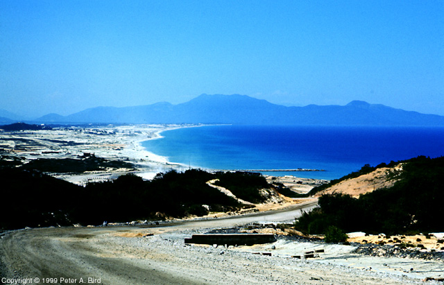 Cam Ranh - View to the East